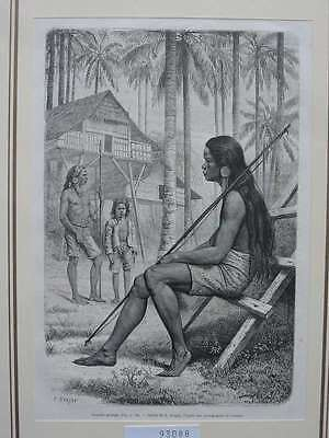 93088-Philippinen-Philippines-Pilipinas-Guianga-T Holzstich-Wood engraving