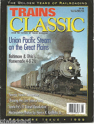 TRAINS CLASSIC  -  Premiere Issue 1999