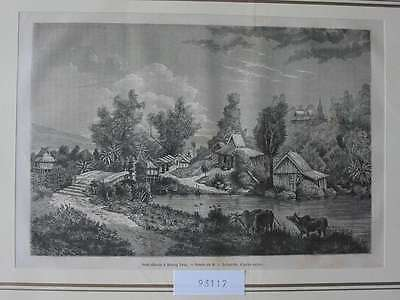 93117-Asien-Asia-Indo-China-Muong Long-T Holzstich-Wood engraving