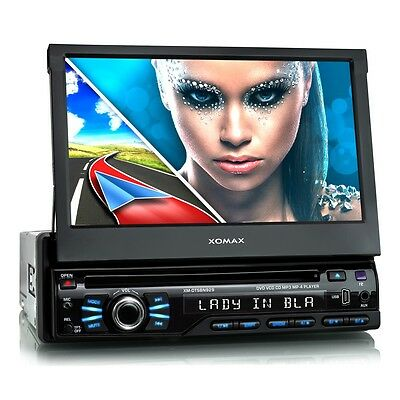 Autoradio Con Navigatore Gps Bluetooth Schermo Lettore Dvd Cd Usb Sd Mp3 1Din