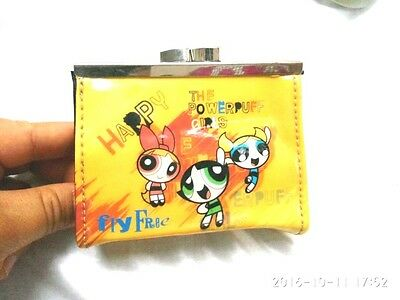 CLASSIC POWERPUFF GIRLS PVC Coin Purse Wallet / Purse collection  Ideal Gift