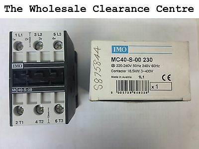 IMO Contactor MC40-S-00 230 18.5kW 3~400V