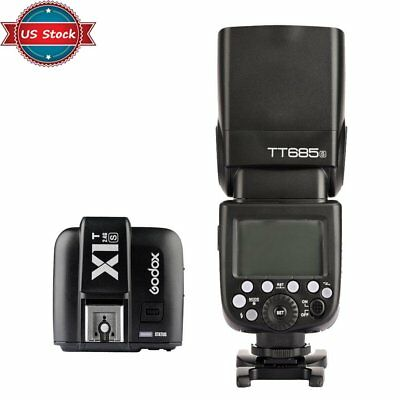 US Godox TT685S 2.4G HSS TTL Flash Speedlite + X1S Trigger for Sony a77II a7R