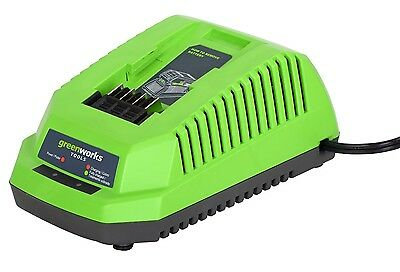 Greenworks Tools 40V Lithium-Ion Battery Charger with BS plug