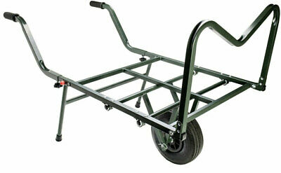 Ngt Dynamic Carp Fishing Barrow Trolley  Double Wheeled Coarse Angling Tackle