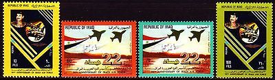Irak Iraq 1985 ** Mi.1243/46 Luftwaffe Air Force Saddam Hussein