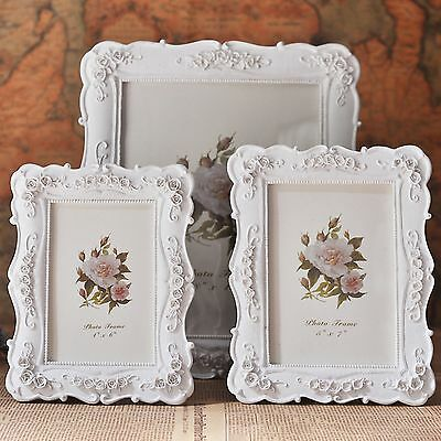 Picture Frames Photo Ornate Shabby Chic Vintage Antique French Baroque Style