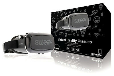 Virtual Reality Glasses VR by Sweex - Android, iPhone for Movies and Games!!