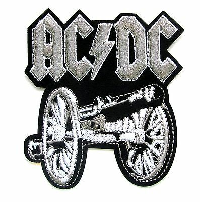 ACDC Gun Iron On Patch- Music Bands Rock Metal Badge Appliques Sew Patches