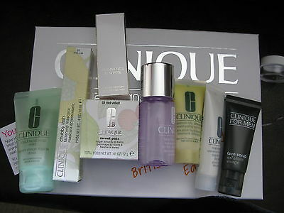 Clinique Bonus Time Gift Set 6 items bag Pep Start #1: Clinique the British Beauty Blogger Skin care and