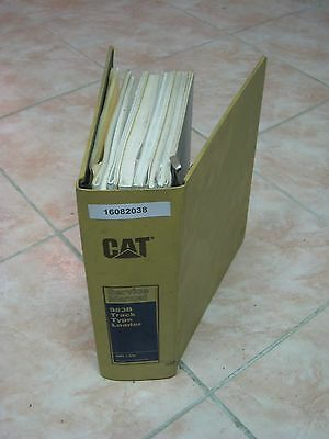 Werkstattbuch Laderaupe Caterpillar 963B CAT Track Type Loader Service Manual