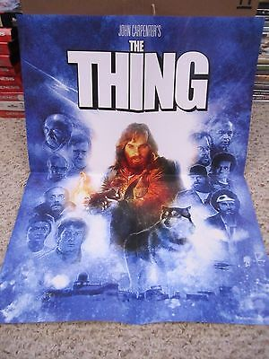 THE THING - Scream Factory Exclusive 18x24 Blu-ray Poster Paul Shipper