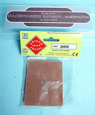 Aristocraft 'gauge 1' Ref:29950 Track Cleaning Wagon Pad & Screw Parts New