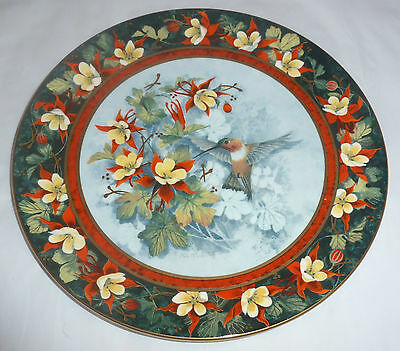 Royal Doulton - The Rufous Hummingbird Plate - (G485)