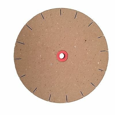 "Paper Sharpening Wheels - 8"" Slotted Replacement Polishing Wheel for 6"" Grinder"