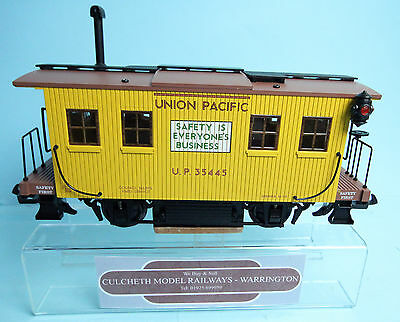 Aristocraft 'gauge 1' Ref:46953 Union Pacific Track Cleaning Car Wagon New Boxed