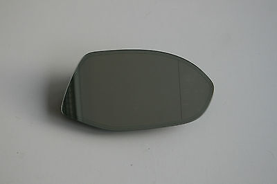 Original Mirror Glass Electro chrome Audi A7 right / 4G8857536E