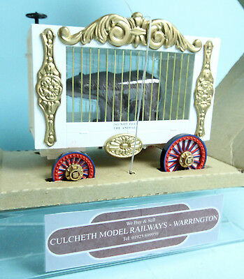 Bachmann Big Haulers G Gauge 92703 Circus Cage Wagon With Bear New Boxed