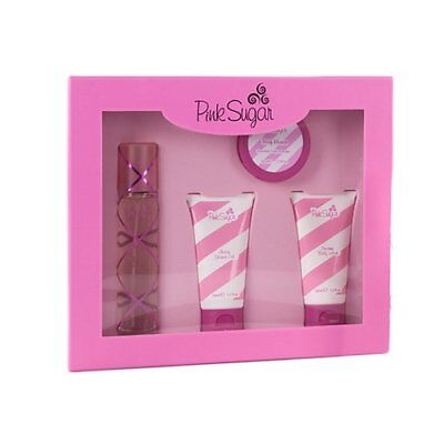 Pink Sugar Gift Set 4 pieces (Hard Box)
