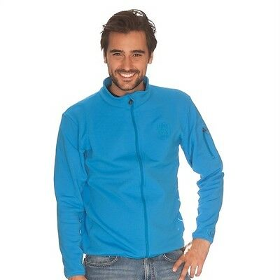 IQ Softshell Jacket Around the world Blue