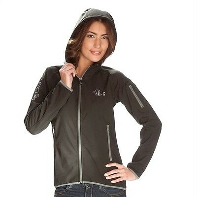 IQ Softshell Jacket Ladies Hood iQ-C Black