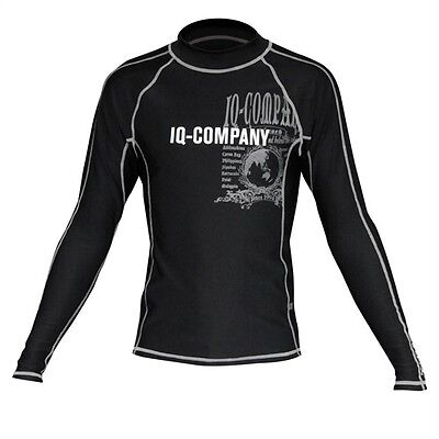 iQ UV 300 Shirt LS around the world black