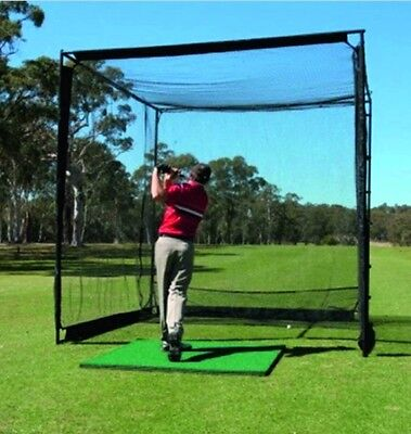 Pro Advance Master Golf Practice Cage / Net | 3 x 3 x 3 Metres