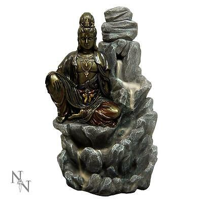 Buddha / Guarnyin Backflow Incense Cone Burner + Free Incense + Free Postage