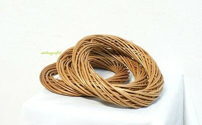 """Wicker / Willow Wreath Ring Light Willow 20cm  8"""" Decoration"""