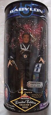 "Babylon 5 Susan Ivanova Action Figure 8""Limited Edition Collectors 1997 Sealed"