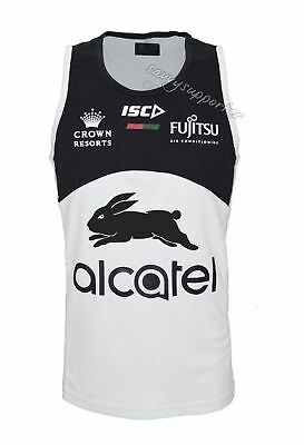 South Sydney Rabbitohs NRL Bone Training Singlet Sizes S-3XL BNWT