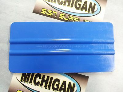 6'' x 3'' Large Blue Squeegee~Great for Vinyl Application & More!!!~