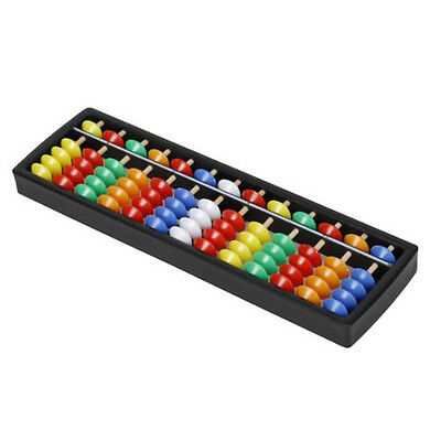 Portable Plastic Abacus Arithmetic Abacus calculation tool T1