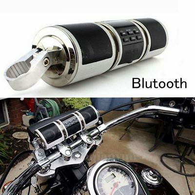 Bluetooth Waterproof Motorcycle USB  MP Audio Radio Sound System Stereo Speakers