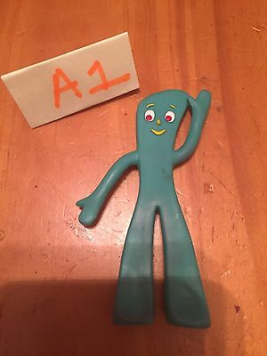 """Gumby Action Figure Bendable And Poseable Prema Toy Co. 3"""""""