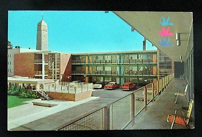 Vintage Postcard The  Concord Motel Downtown Minneapolis Minnesota 1950s
