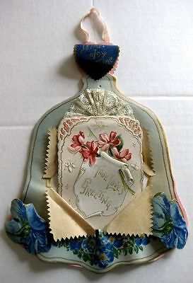 1920s Valentine's Day Display Made of Parchment and Celluloid
