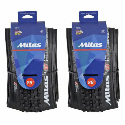Pair of Mountain Bike Tyres 29 x 2.0 Inch Cross Country - Off-road Dual Compound