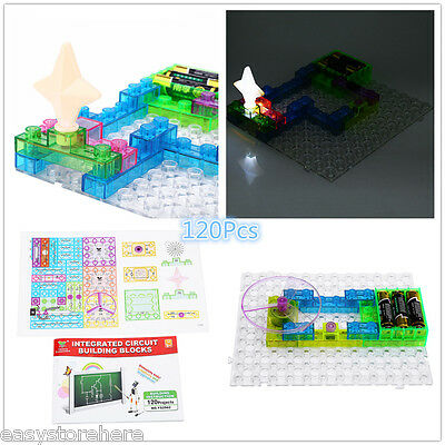 120Pcs YSGO Integrated Electronic Circuit Building Blocks Kit Educational Toy
