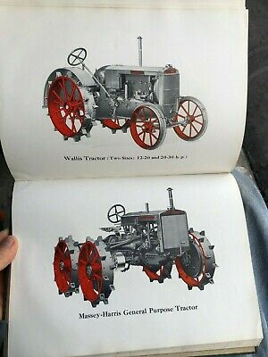 "1930 Book Titled ""Massey-Harris Modern Farming Equipment General Catalogue"" *"