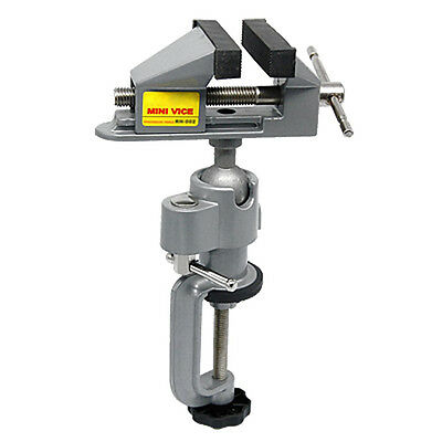 Mini Clamp-On Bench Jewellers Hobby Craft Vice Tool SH