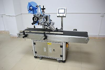 110V/60HZ 20-60pcs/min Full Automatic Flat labeling machine Located in u.s