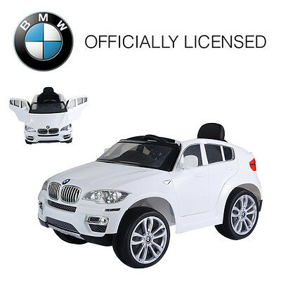 Bmw X6 Kids Ride On Car 12v Electric Battery Remote Control Children