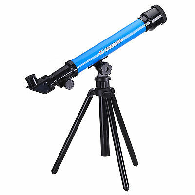 Science Kit Telescope Toy Set for Kids with 3 Eyepieces 20x 40x 60x SH