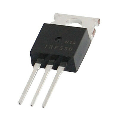 IRF530 100V 14A N-Channel Power MOSFET TO-200AB 5 Pcs SH