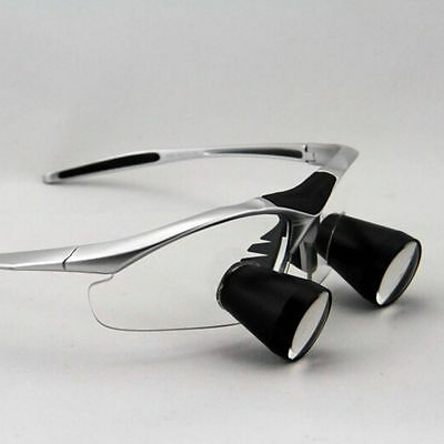 2.5X Dental Loupe 400-600mm Binocular Surgical Magnifying Glass Eyes Customized