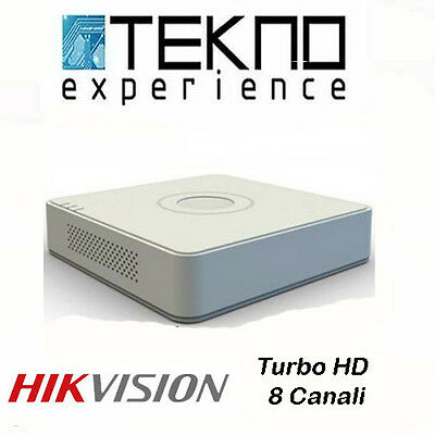 DVR Turbo HD 8 Canali HIKVISION DS-7108HGHI-F1