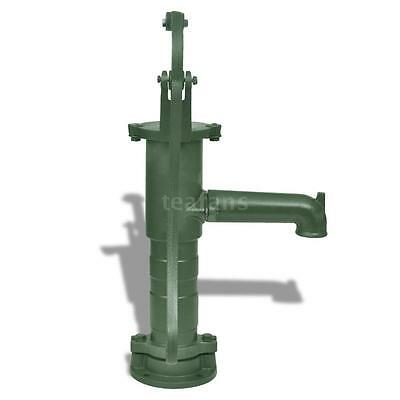 New Hand Pump Cast Iron Well Water Pitcher Press Suction Yard Ponds Hot V3J2