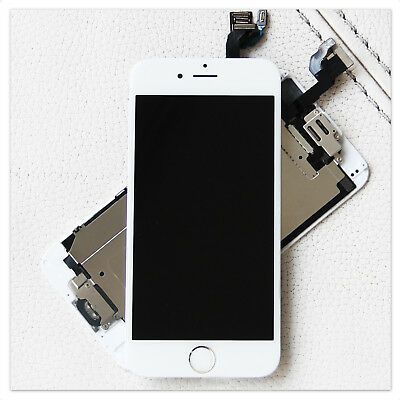 iPhone 6 Display Original OEM RETINA LCD VORMONTIERT Komplett NEU weiss white