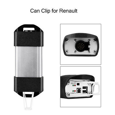 V159 REPROG V138 Best Price Can Clip for Renault Diagnostic Tool OBDⅡ Interface
